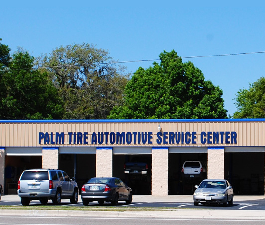 Palm Tire and Automotive storefront
