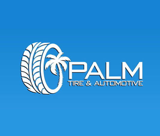 Palm Tire and Automotive logo